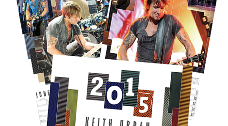 2015 KEITH URBAN CALENDAR FOR ST.JUDE AVAILABLE NOW!