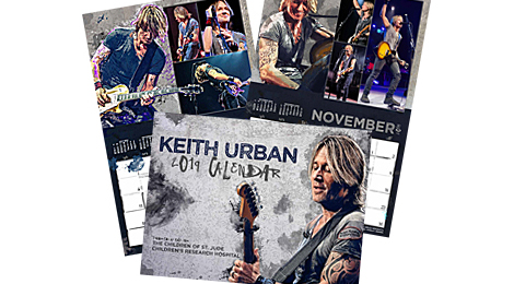 Order Your 2019 Keith Urban Calendar Today!