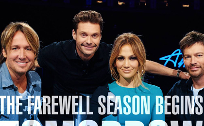 AMERICAN IDOL FAREWELL SEASON STARTS TONIGHT