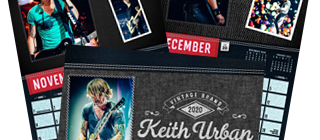 Order your 2020 Keith Urban Calendar for St.Jude NOW!